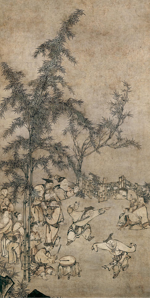 The Seven Sages of the Bamboo Grove (竹林七賢)