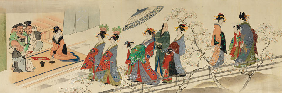 Scenes of Pleasures at the Height of Spring (全盛季春遊戯)