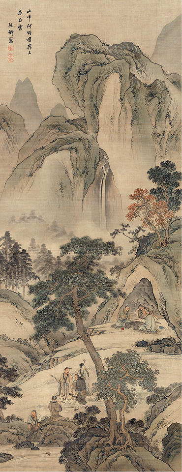 Eight Daoist Immortals of China (八仙人)