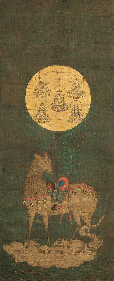 Deer Mandala of the Kasuga Shrine (春日鹿曼荼羅)