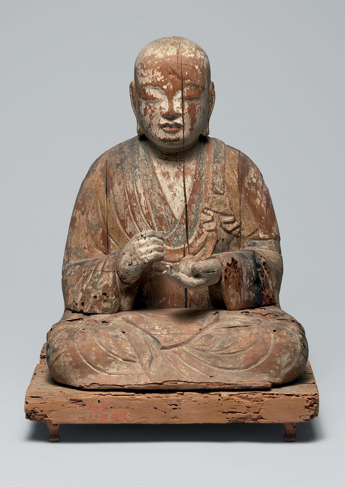 Hachiman in the Guise of a Buddhist Monk (Sōgyō Hachiman, 僧形八幡)