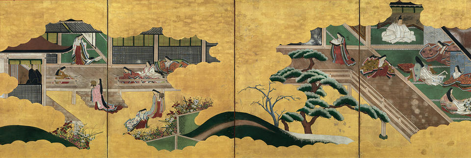 """Tamakazura"" (玉鬘) and ""Nowaki"" (野分) chapters of Genji monogatari (源氏物語)"